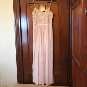 Light pink Adriana Papell Gown